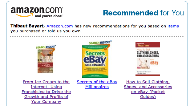 amazon recommandation SEO AI