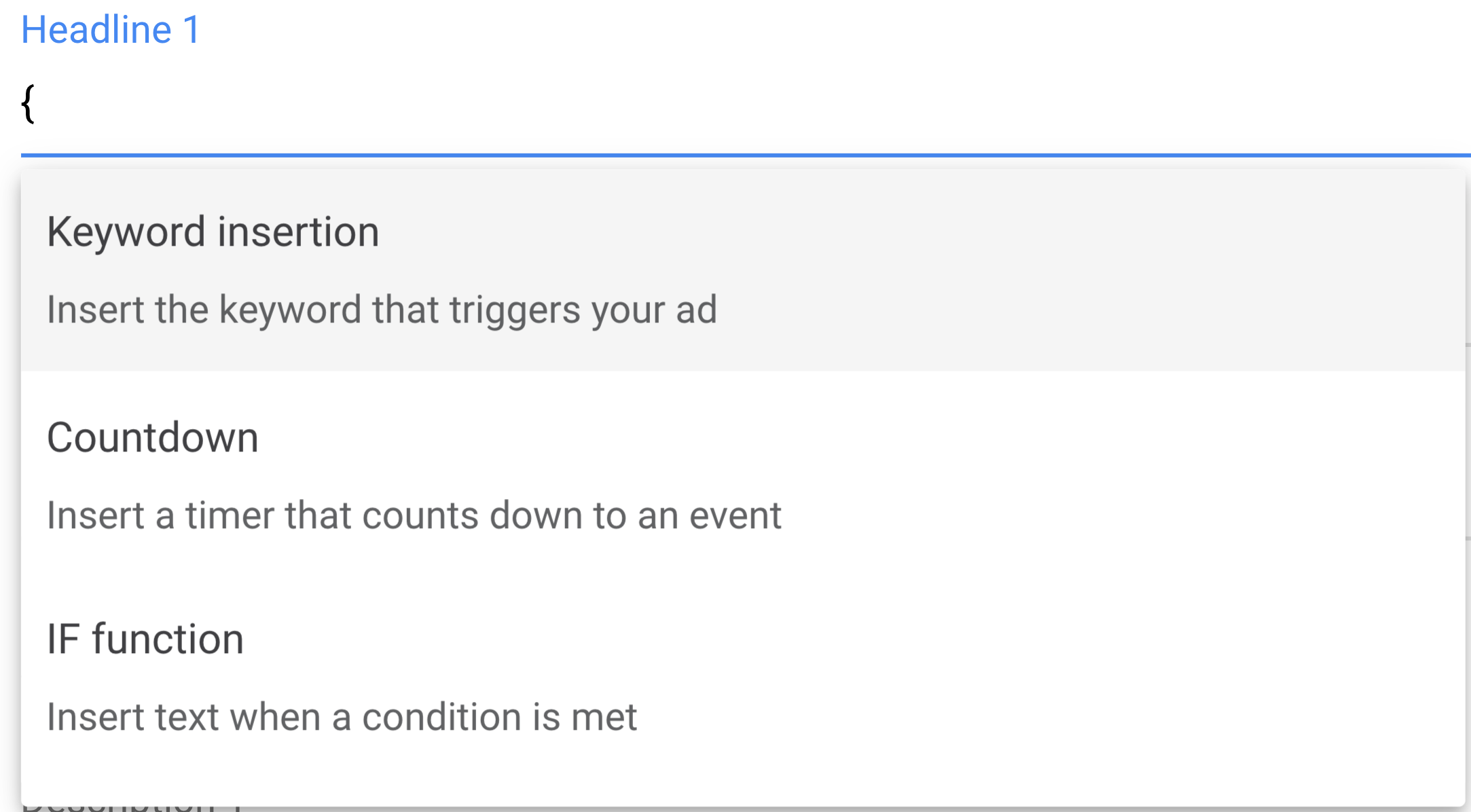 Dynamic Ads Features